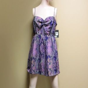Hurley Isabel Dress Purple/Pink Size Large NWT